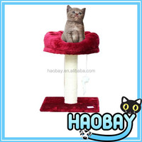 cat tree with strong construction cat bed