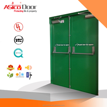 Powder Coated Steel Door Fire Rated UL listed American Standard Emergency Door