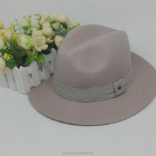 Factory wholesale jazz hat mens winter hard felt fedora hat