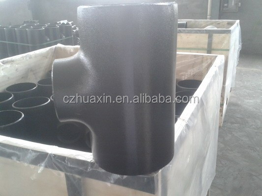 carton steel seamless pipe tee