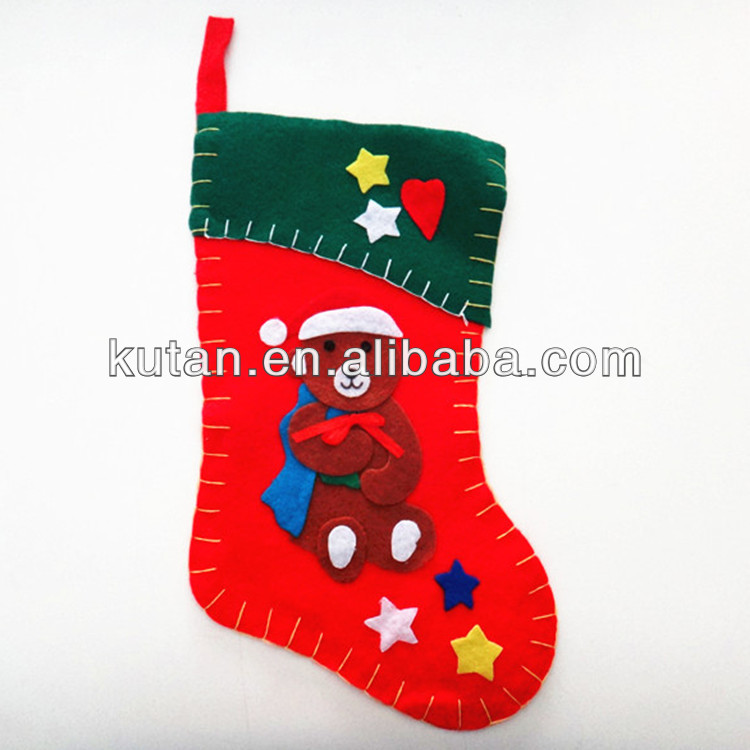 funny hanging bear christmas socks for sale, christmas santa socks, santa claus socks