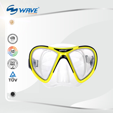Low Volume Tempered Glass Adult Scuba China Diving Mask
