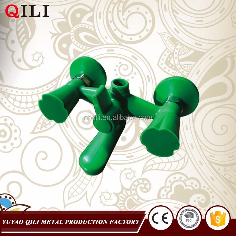 china manufacturer green color wall mounted waterfall bathtub faucet