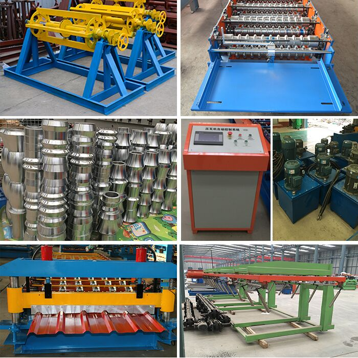 Glazed Tile Making Machine with High Quality