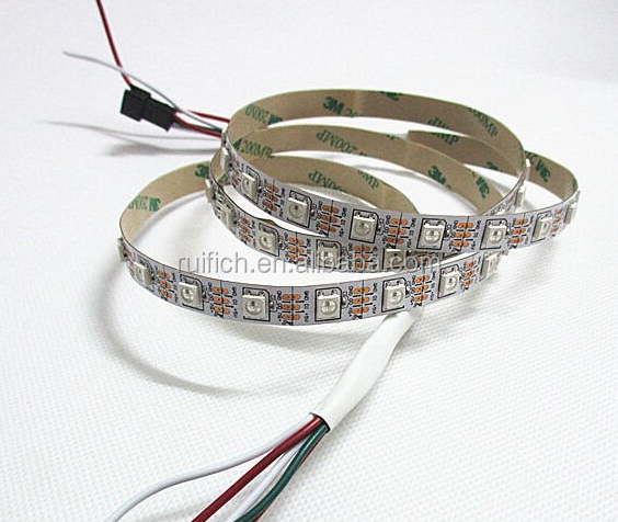 magic digital dream color rgb LED strip 2811 1903 2812b 30led/m 30ic/m individual controller spi controller DMX512 control