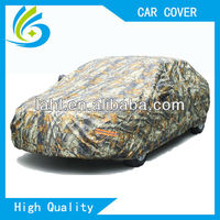 fashion accessories customization paint camouflage polyester taffeta car cover