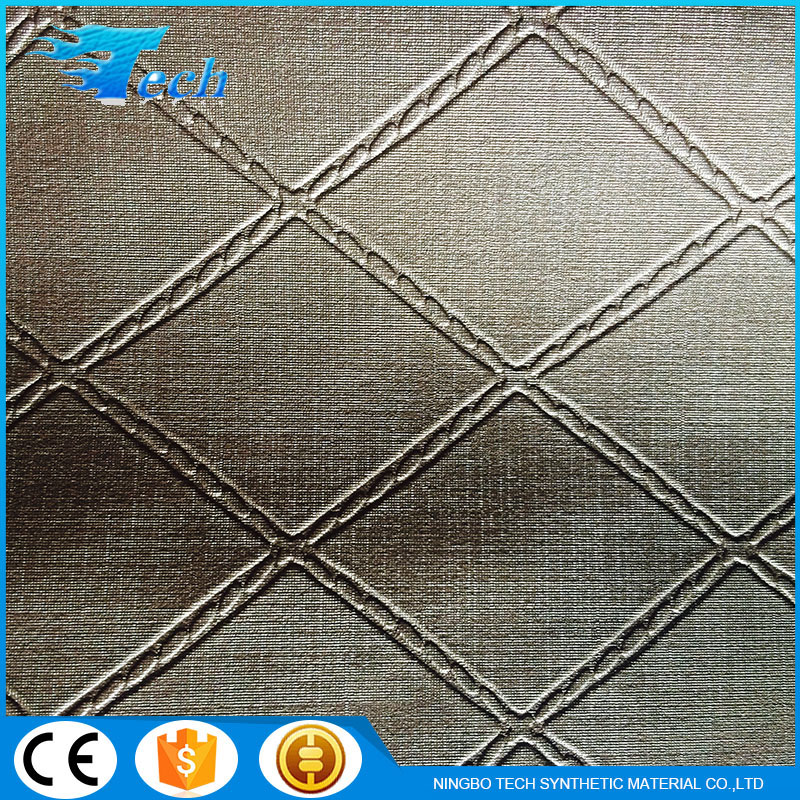 2016 Good Quality New 3D Leather For Wall Paper Wall Decoration Leather