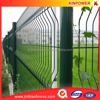 Galvanized or Powder Coated Wire Mesh Panels for Fencing