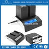 Professional universal camcorder battery charger with LCD display charging for F970 U60