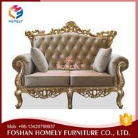 Royal Arab Middle East Style Customized Size Commercial Single Seat Sofa