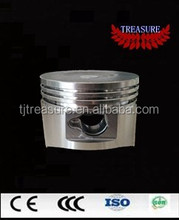 Four stroke motorcycle gasoline engine piston