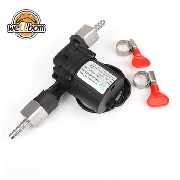 DC12V 18W Brushless Food Grade Homebrew Pump Quick Connect Tube Temperature Resist Pump Home brewing water pump No Noise