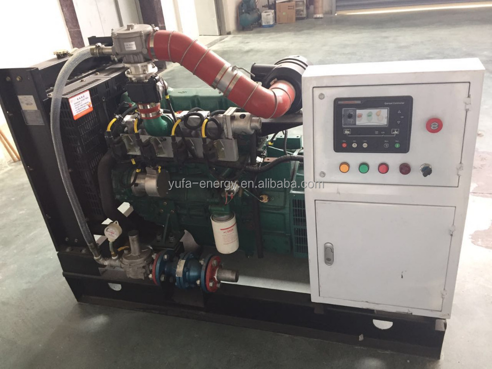 China manufacture 10kw generator nature gas generator set price