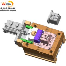 high quality precision injection plastic mould zinc alloy die casting mold
