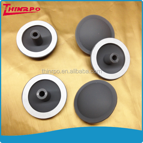 Customized silicone stopper rubber components with 3M VHB adhesive 5915