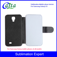 Blank fashion Sublimation Phone holster luxury leather case Mobile phone Case Sublimation phone holster for Samsung Galaxy S3