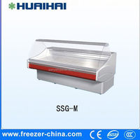 Auto-defrosting andlow-noise restaurant fast food fridge