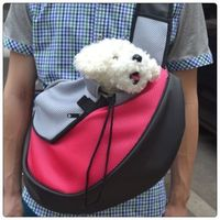 free shipping Pet Dog Cat Puppy Carrier Mesh Travel Tote Shoulder Bag Dog Backpack X03