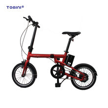 Wholesale green power electric moped with pedals folding e-bike
