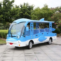 14 Seaters Electric Sightseeing Buggy for Sale (DN-14)