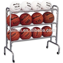 Movable 3-tiers Free-standing Basketball Stand
