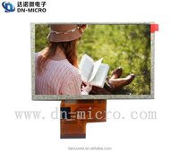 Best Selling 5 inch 800x480 high resolution LCD panel for monitor