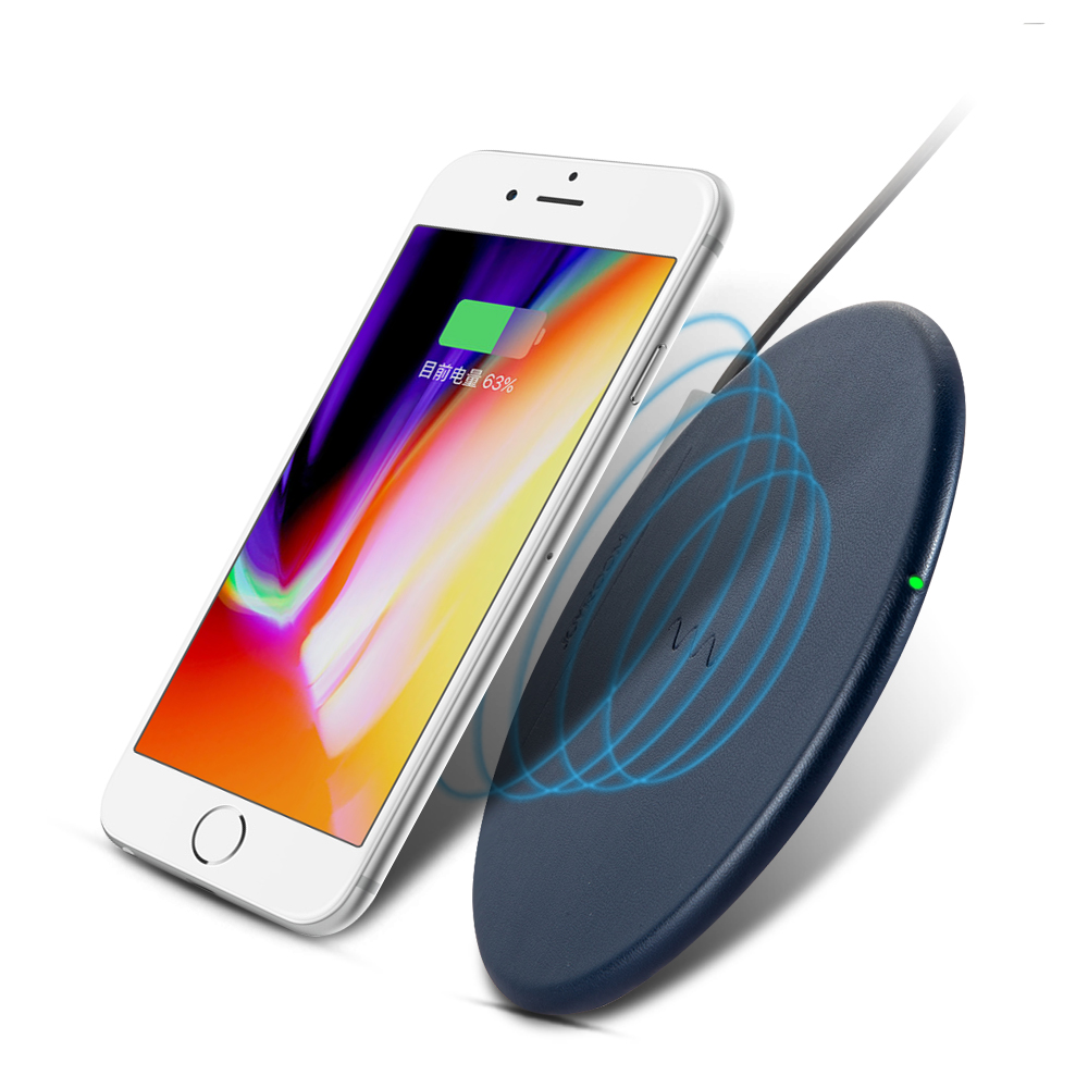 2018 New products slim Design Wirelss Charging Pad for Iphone 8 for Iphone X