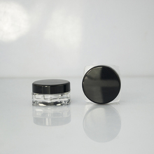 Best quality Empty New Tiny Small Plastic Sample Mini Bottle 3g 5g Jars Vial Cosmetic Portable
