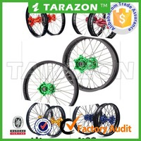 China aftermarket motorcycle spoke wheels suit for Kawasaki,Ktm,Yamaha,Honda and Suzuki