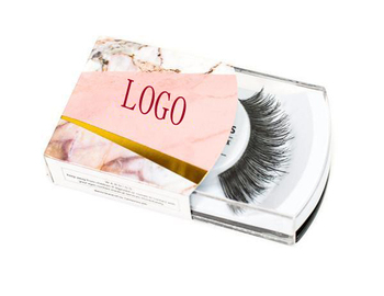 3D Human hair strip eyelashes with your own brand and custom eyelash packaging