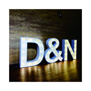 Factory supplier Illuminated Sign 4ft giant love letters marquee Led Light Up Letters