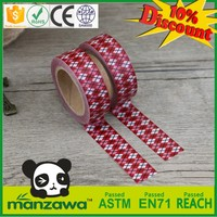 Made in China high quality decorative tape decorative duct tape wave free cartoon sticker tapes