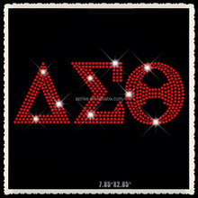 Aprise - Zeta Phi Beta Bling Delta Sigma Theta Rhinestone Iron on T Shirt Transfers
