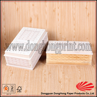 Luxurious Wholesale Wooden Wine Boxes With Simple finish For Sale