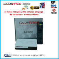 2015 New digital satellite receiver tocomfree s929 iks sks free and support iptv 3G