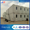 20ft and 40ft combine together for factory office house ,Flat pack container house