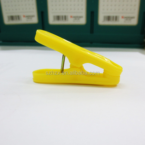 High quality cheap wholesale promotional plastic locking clip
