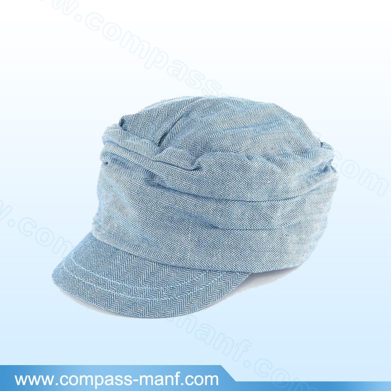 District Threads Distressed Military Unstructured Hat