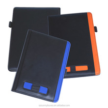 Customized A4 Leather Note Pad Holding Portable File Folder