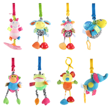 Pacify baby toys color animal crib clip wholesale factory animal stretch baby favourite plush toys