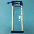 hot selling 190*65mm Low Price plastic bookmark magnifier
