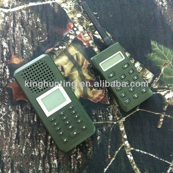 Portable Hunting bird MP3 player with remote control reach to 500meters