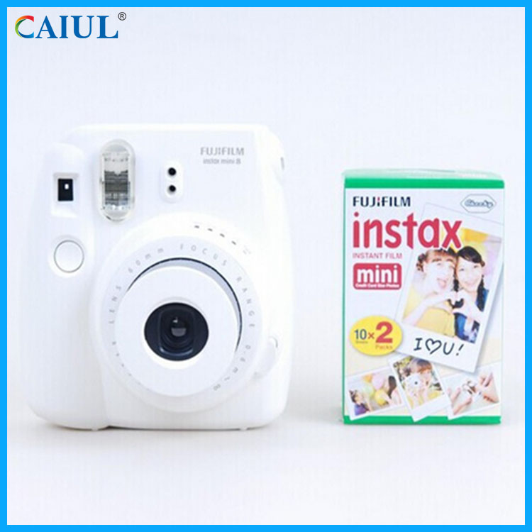Fuji White Color Fujifilm Instax Mini Instant Film Twin Pack