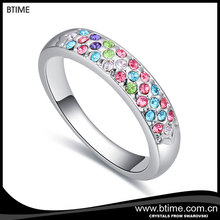 Fashion new model wedding ring, Diamond engagement ring, New Design crystal jewelry Rings Jewelry