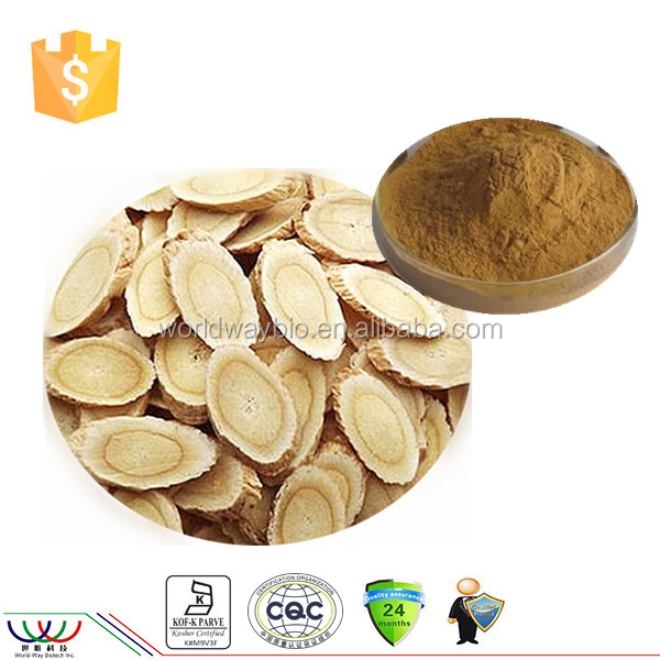 Factory price supply 50% polysaccharide Astragalus extract / astragalus root extract