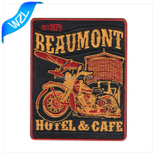 Embroidered Patches custom No minimum wedding decoration Patch embroidery
