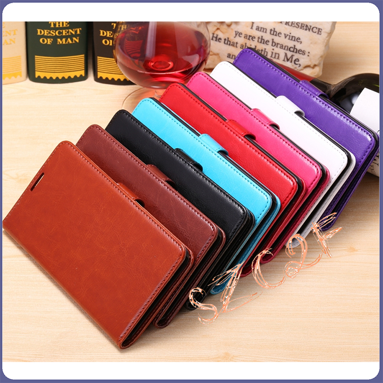New Card Slot Wallet Flip Leather Stand Bumper Case for Nokia Lumia 1520 Back Cover Housing