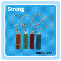 High efficiency, constant current circuit maintains constant brightness Mini LED Keychain