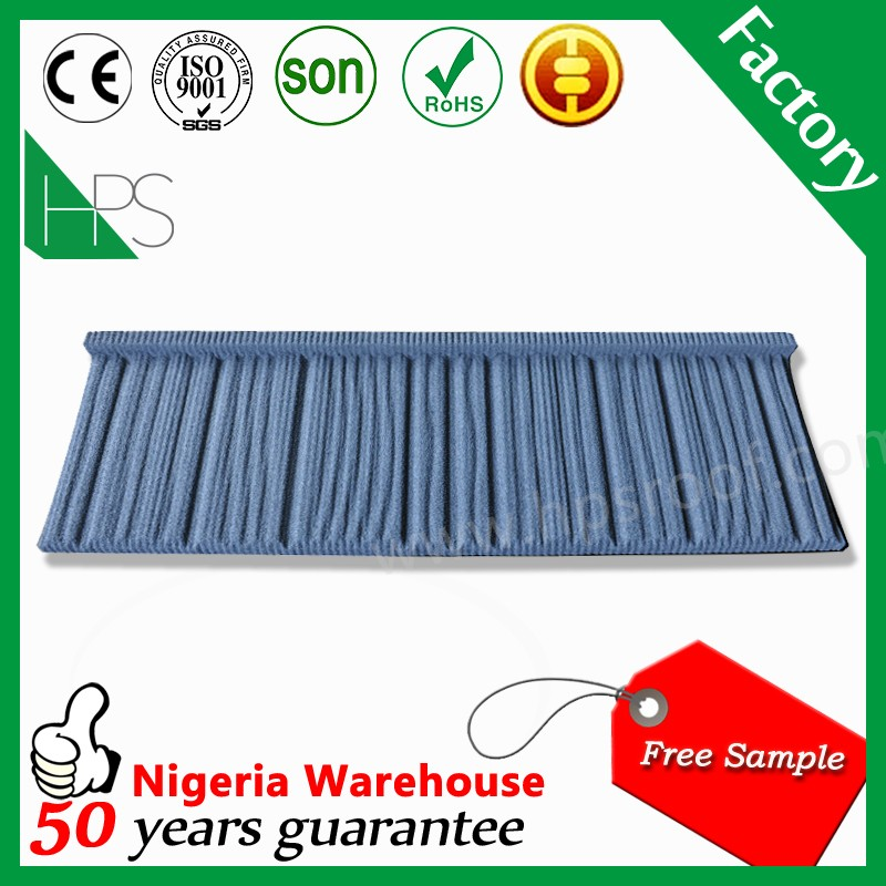 High tempreture resistant fiber cement used corrugated roofing sheet stone coated roof tile