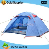 Outdoor Hiking Camping Tent With Aluminum Pole For 3 Person Tent